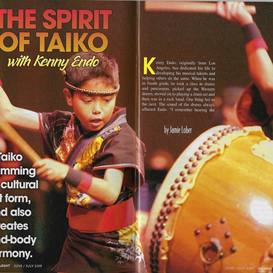 Spirit of Taiko w_ Kenny Endo p1